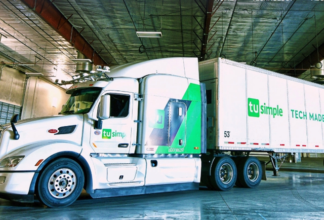 TuSimple Expands Routes With UPS image